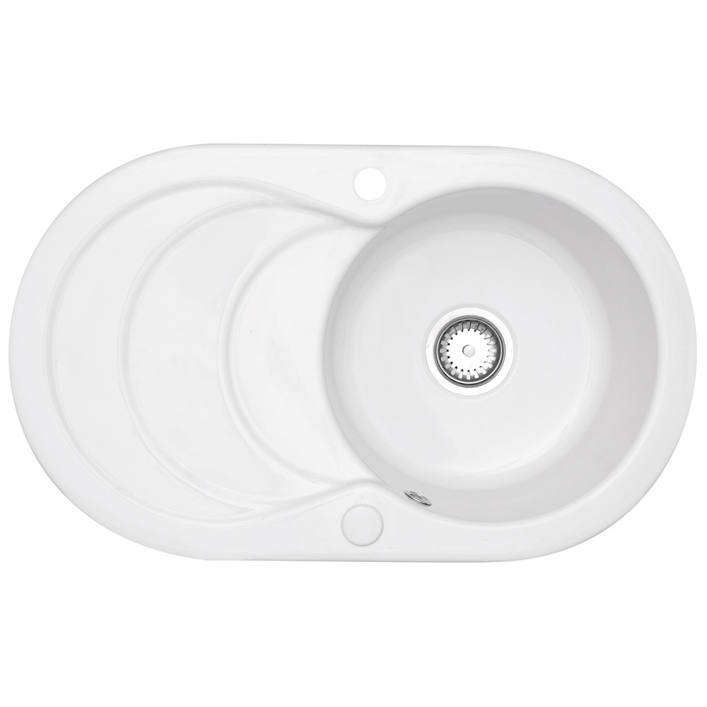 Astracast Cascade 1.0 Bowl Gloss White Ceramic… Product Image