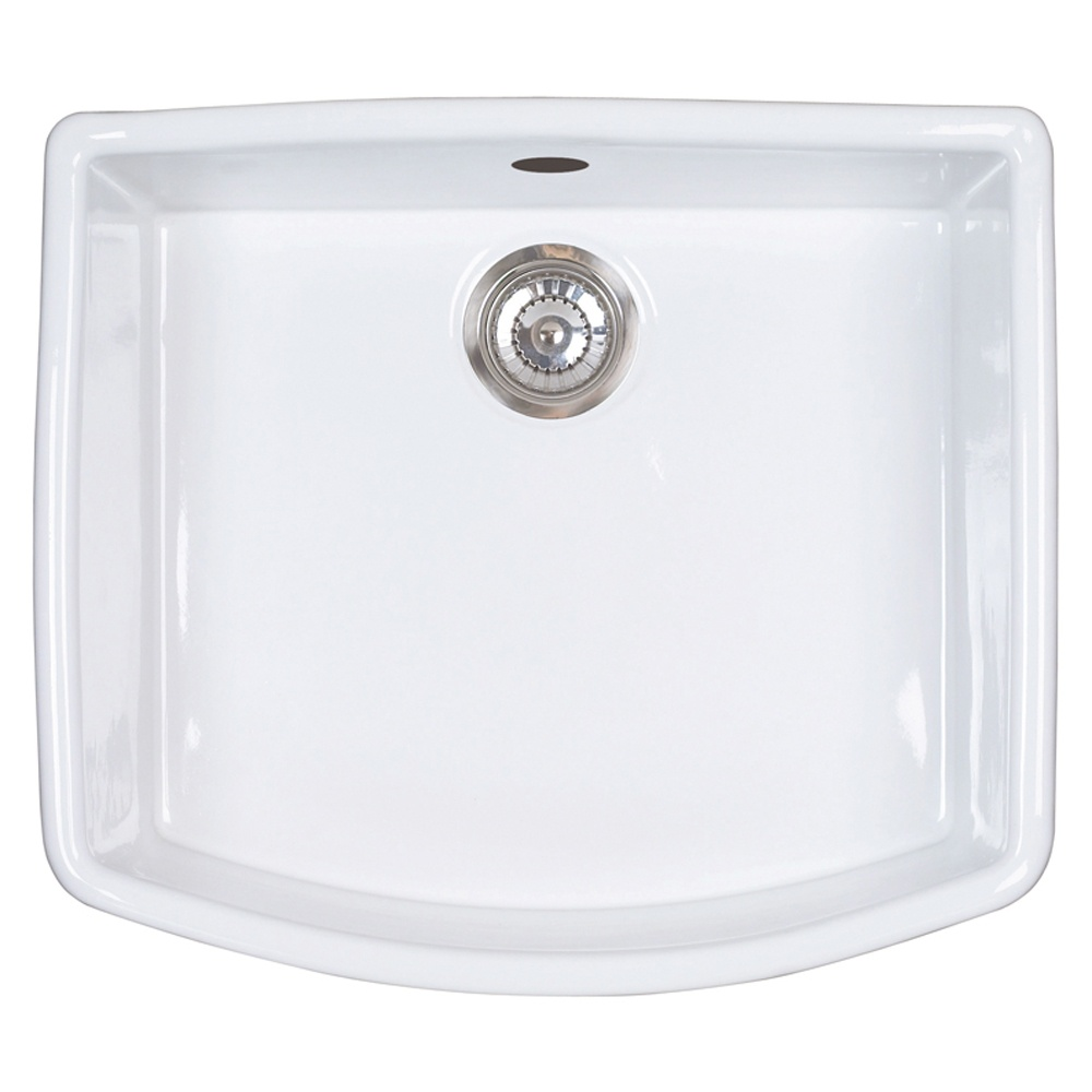 Astracast Edinburgh 1.0 Bowl Gloss White Ceramic… Product Image