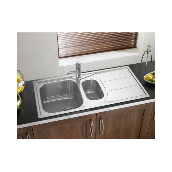 Astracast Kitchen Sinks Astracast elan 15 bowl stainless steel kitchen sink in polished finish astracast elan 15 bowl stainless steel kitchen sink workwithnaturefo