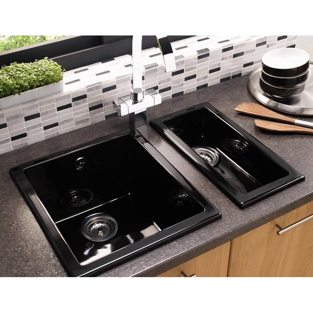 Astracast onyx 10 bowl gloss black ceramic undermount kitchen sink astracast onyx 10 bowl gloss black ceramic undermount kitchen sink workwithnaturefo
