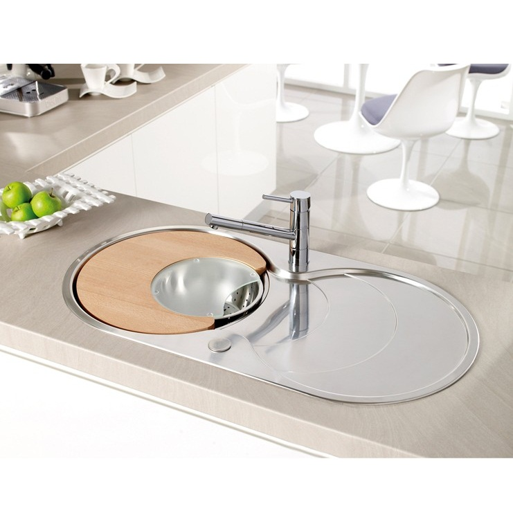 Astracast Cascade 1 0 Bowl Stainless Steel Kitchen Sink In
