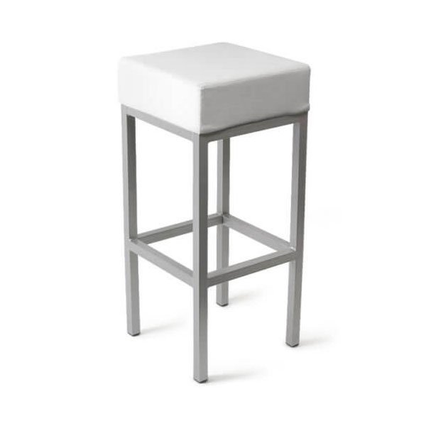 No.2 Best Selling Product In This Category: Cube Bar Stool White