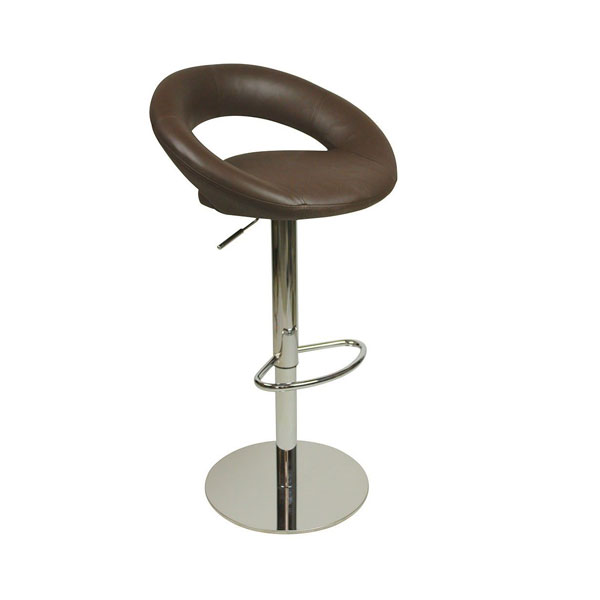 Deluxe Sorrento Kitchen Bar Stool - Brown