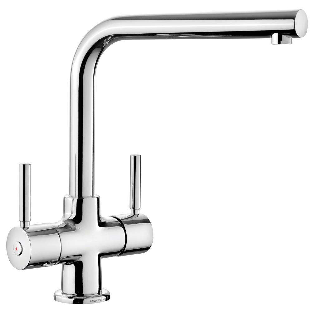 Rangemaster Aquadisc 5 Chrome Stainless Steel Tap