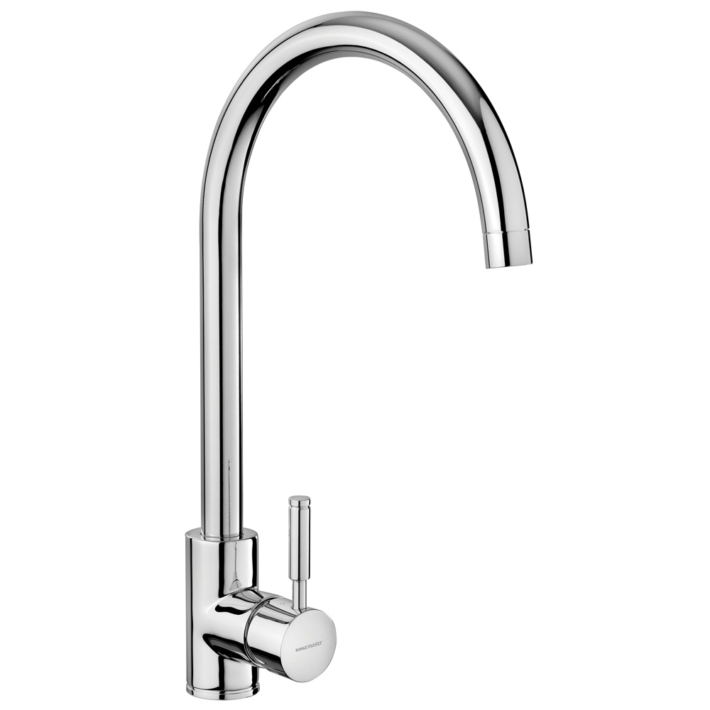 Rangemaster Aquatrend Single Lever Brushed Stainless Steel Tap