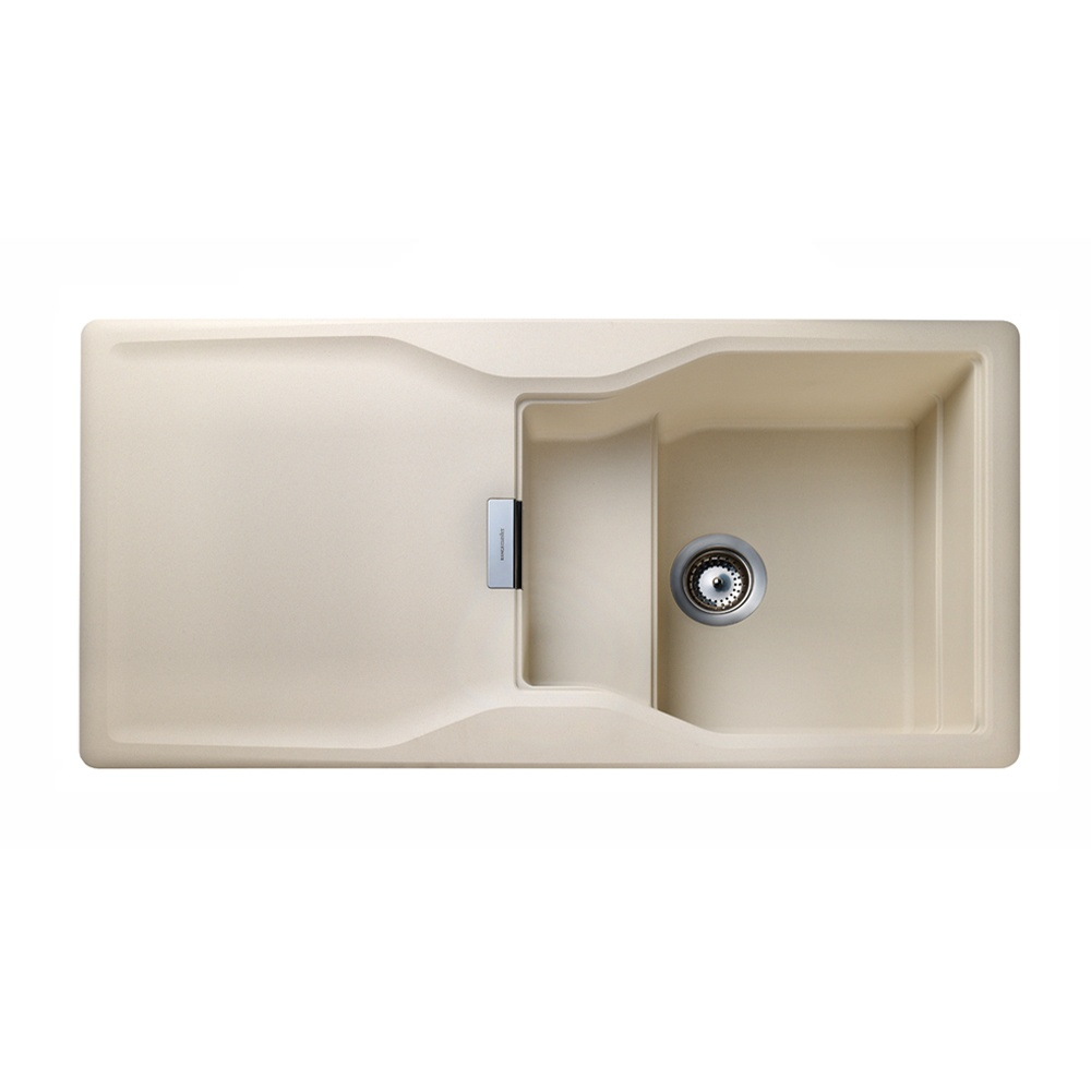 Rangemaster Magma Igneous 1.0 Bowl Granite Kitchen Sink - Stone Beige