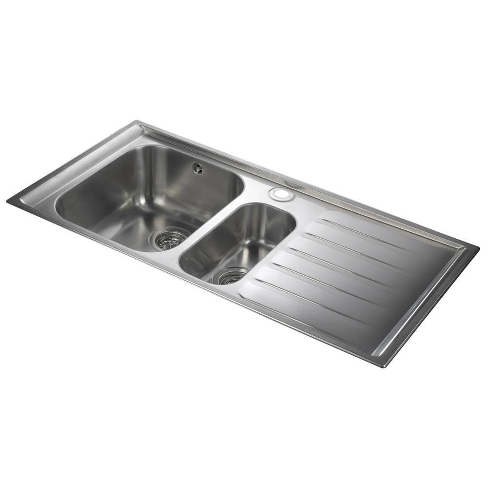Rangemaster Manhattan 1 5 Bowl Stainless Steel Kitchen