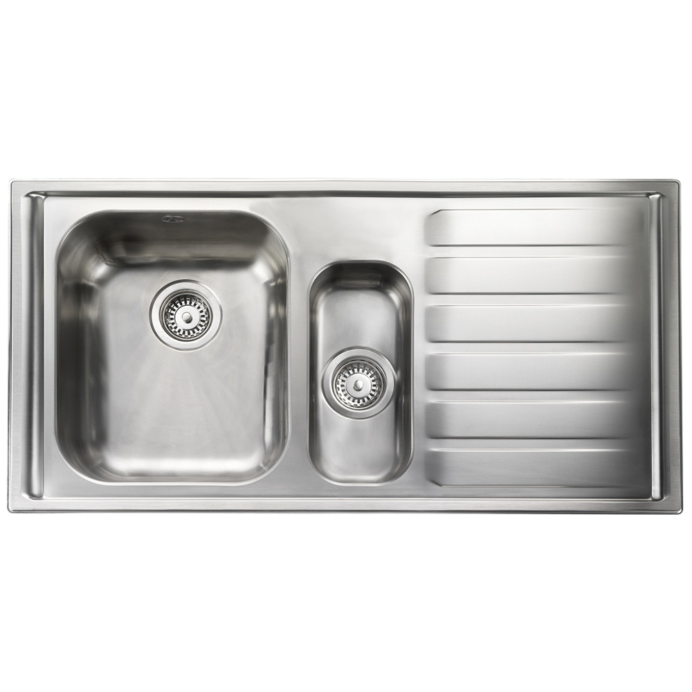 Rangemaster Manhattan 1 5 Bowl Stainless Steel Kitchen