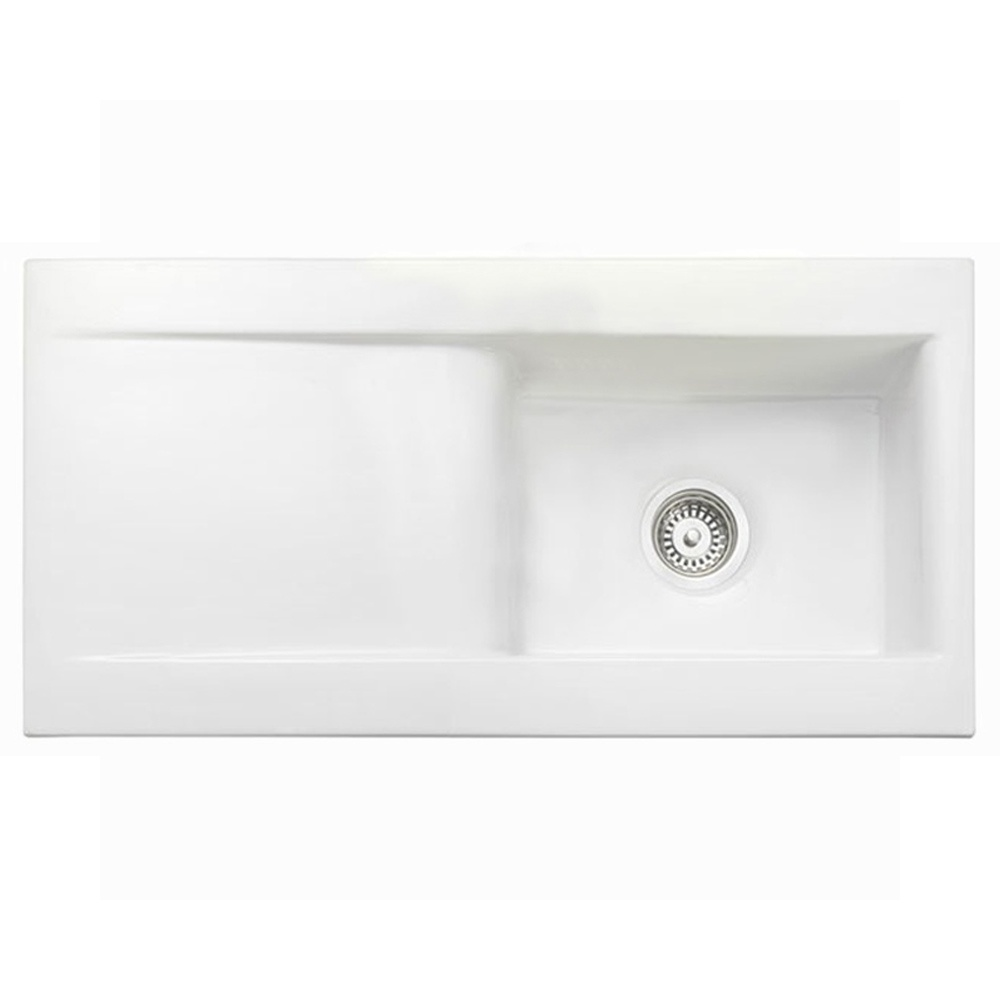 Rangemaster Nevada 1.0 Bowl Ceramic Kitchen Sink… Product Image