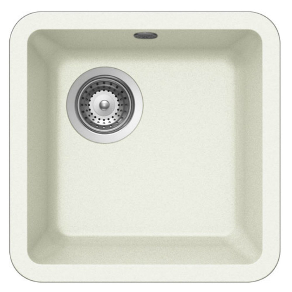Schock Solido N-75 1.0 Bowl Granite Kitchen Sink and Waste Alpina