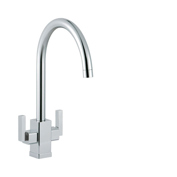 No.2 Best Selling Product In This Category: Smeg Modena Chrome Single Lever Kitchen Mixer Tap