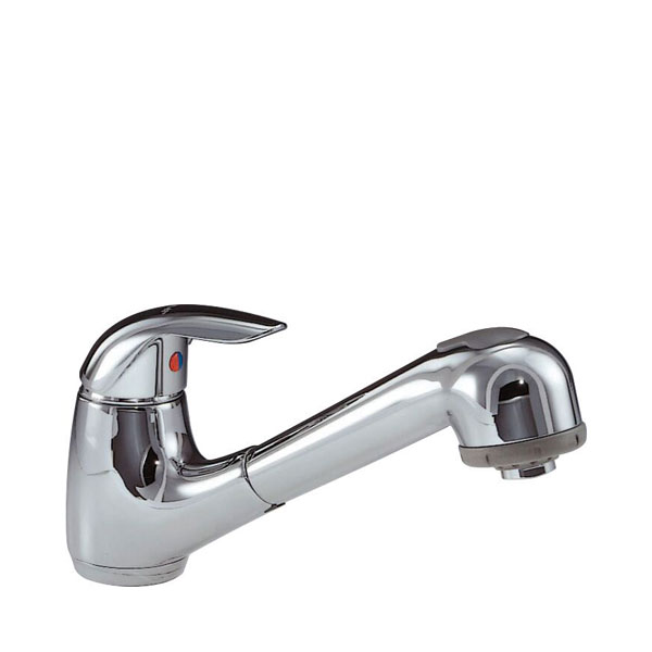 Smeg Roma Chrome Single Lever Kitchen Mixer Tap