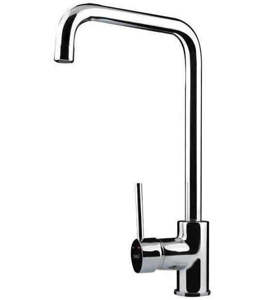 Bretton Park Arkansas Chrome Single Lever Kitchen Tap