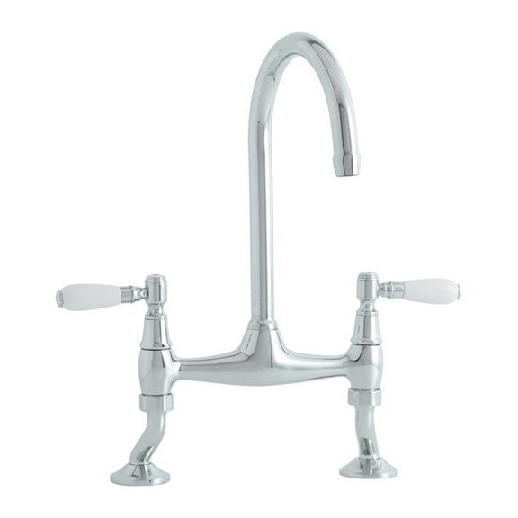Astracast Colonial Bridge Chrome Stainless Steel Tap Product Image
