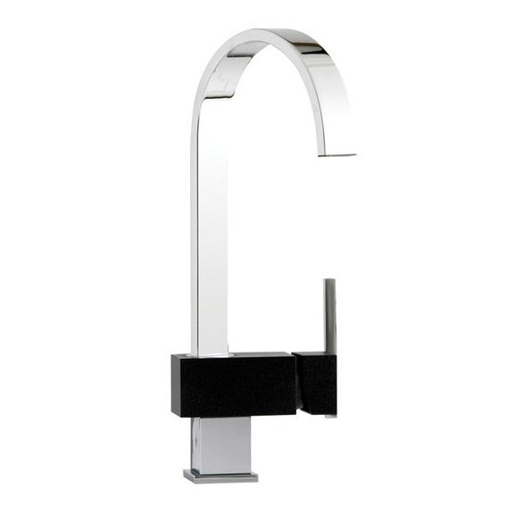 Astracast Indus Volcano Black Chrome Tap Product Image