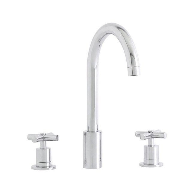 Astracast Ocean Three Piece Chrome Stainless Steel Tap