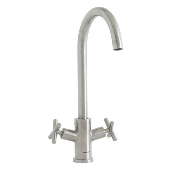 Astracast Valiant Brushed Stainless Steel Tap Product Image
