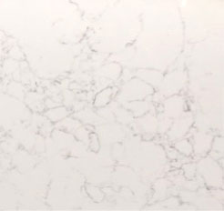 Simply Quartz White Statuary Made To Measure 20mm