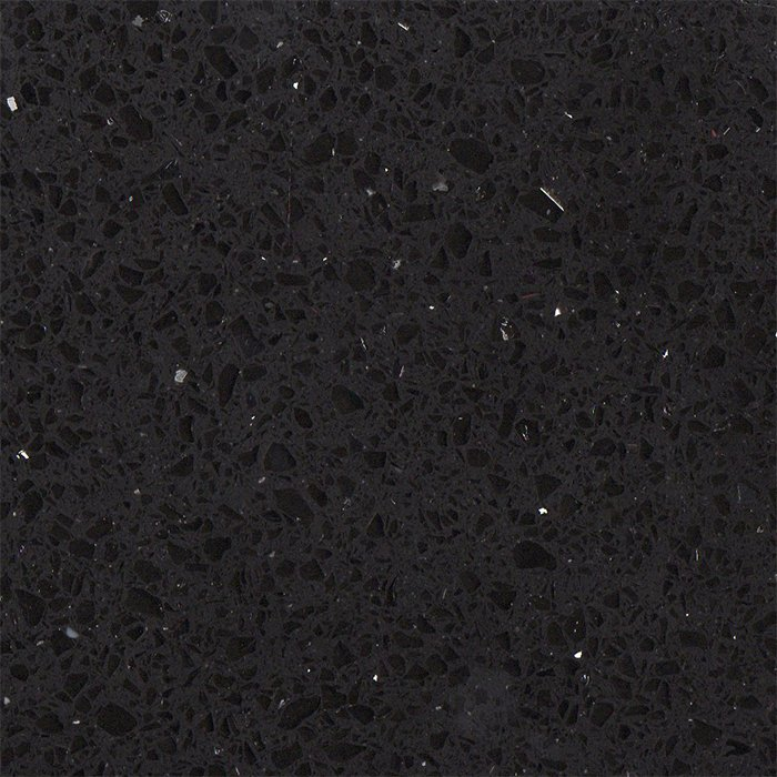 Simply Quartz Black Sparkle Made To Measure 20mm Thickness