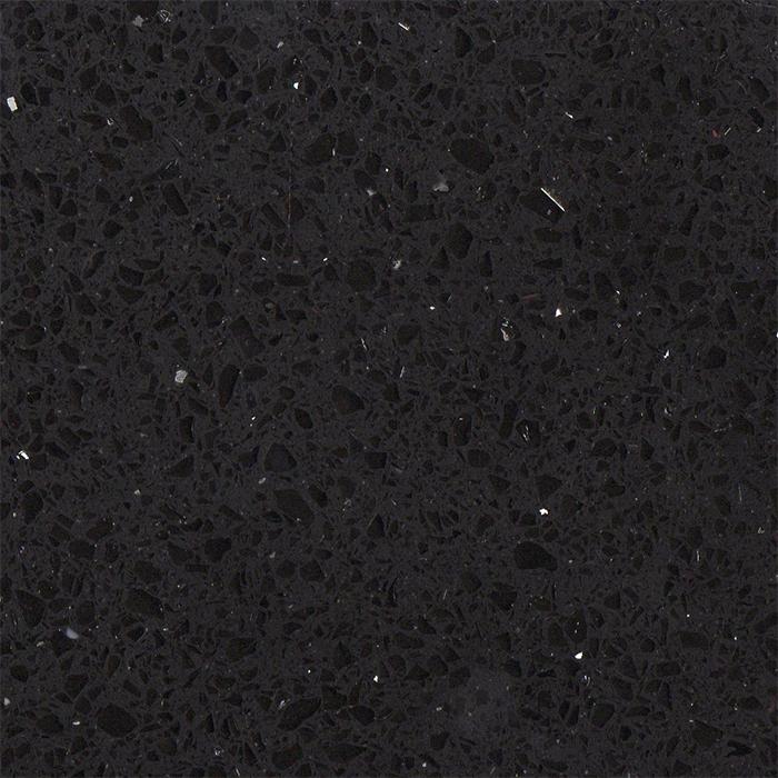 1129ef5243f0a9 Simply Quartz Black Sparkle Quartz Kitchen Worktops ...
