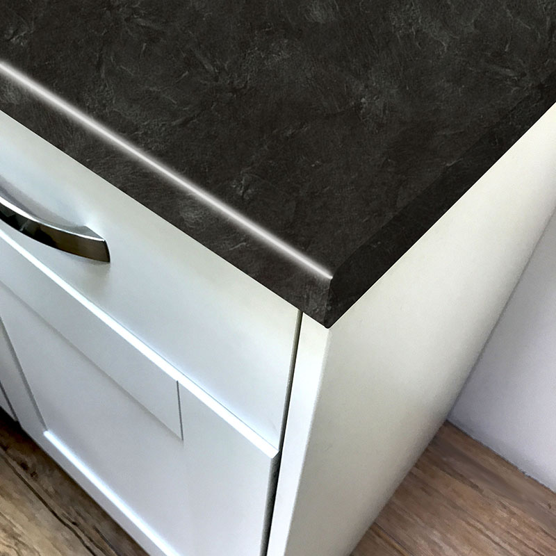 Axiom Basalt Slate Honed Laminate Kitchen Worktops