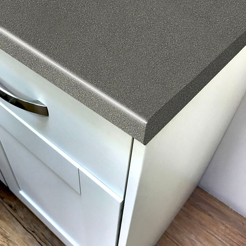 Axiom Black Fleck Crystal Laminate Kitchen Worktops