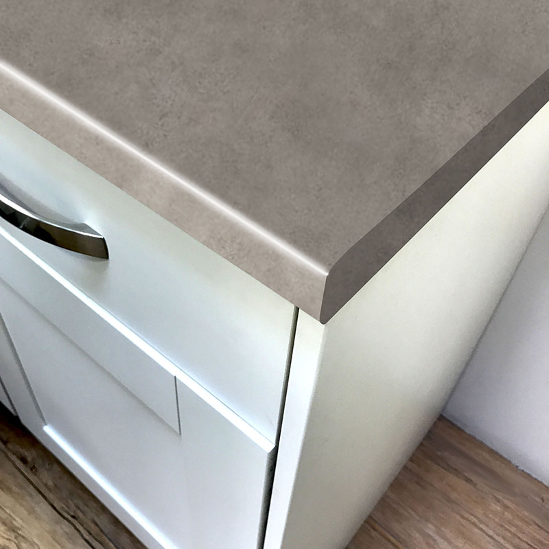 Axiom Brushed Concrete Matte-58 Laminate Breakfast Bars