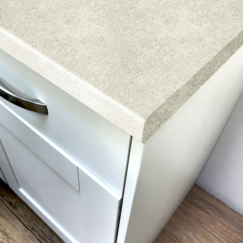 Axiom Imperial White Lustre Laminate Kitchen Worktops