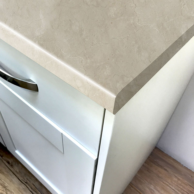 Axiom Marfil Pomice Satin NDF Laminate Kitchen Worktops