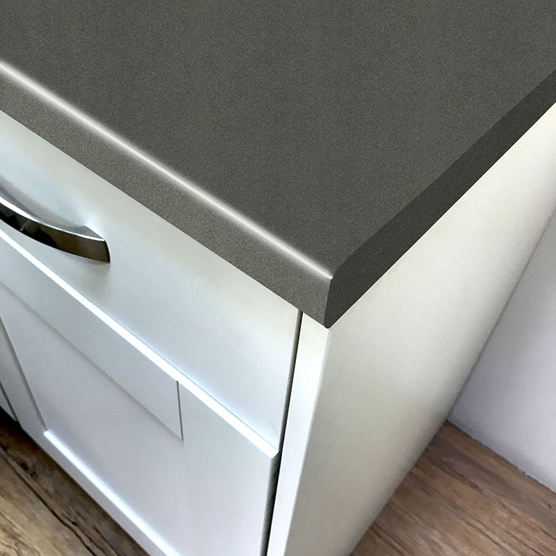 Axiom Paloma Dark Grey Matt  Worktop Product Image