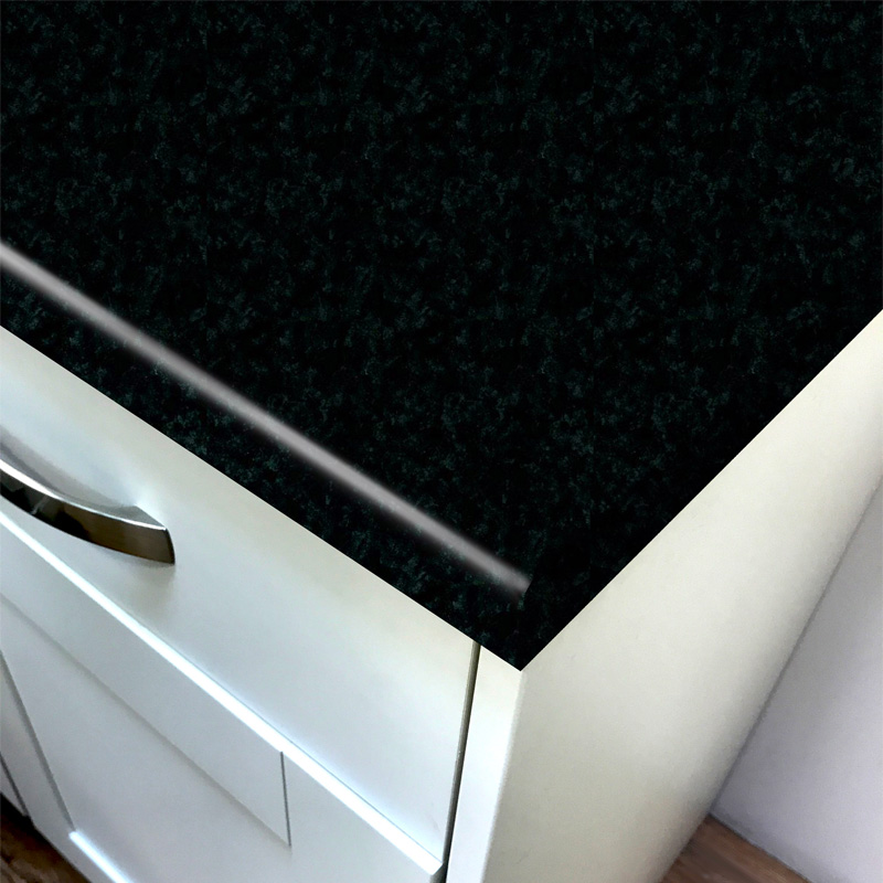 Duropal Black Brazil Top Face Laminate Kitchen Worktops