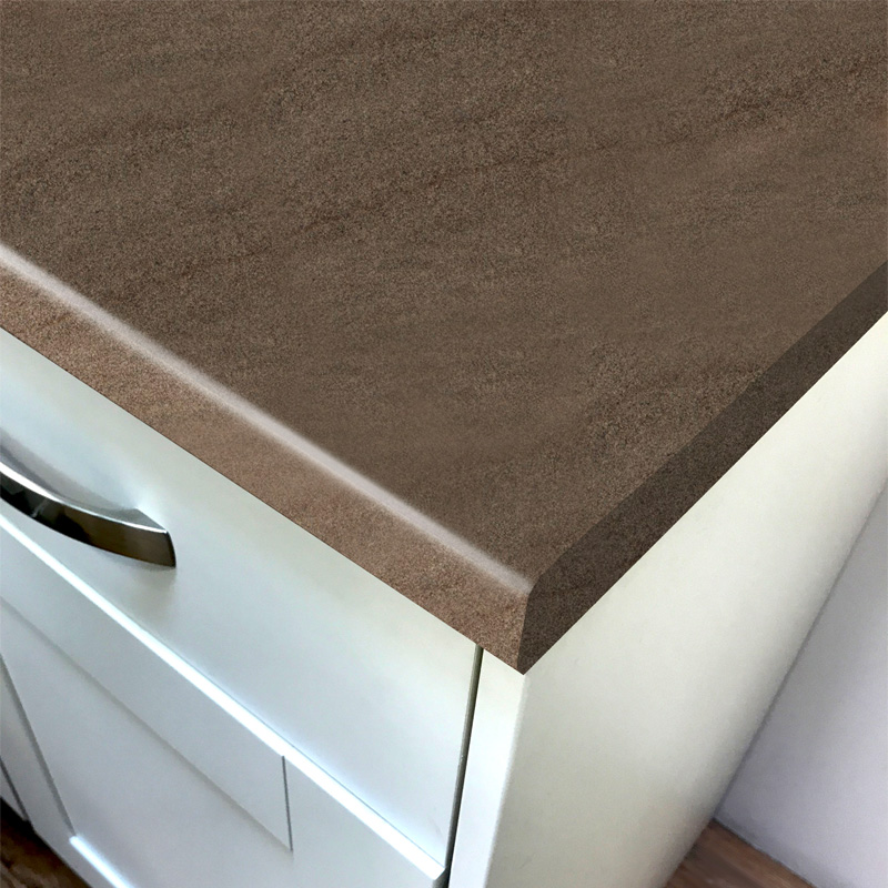 Duropal Brown Sahara Top Velvet Laminate Kitchen Worktops
