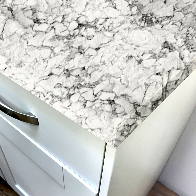 Duropal Carrara Marble Xtreme Matt Laminate Breakfast Bars