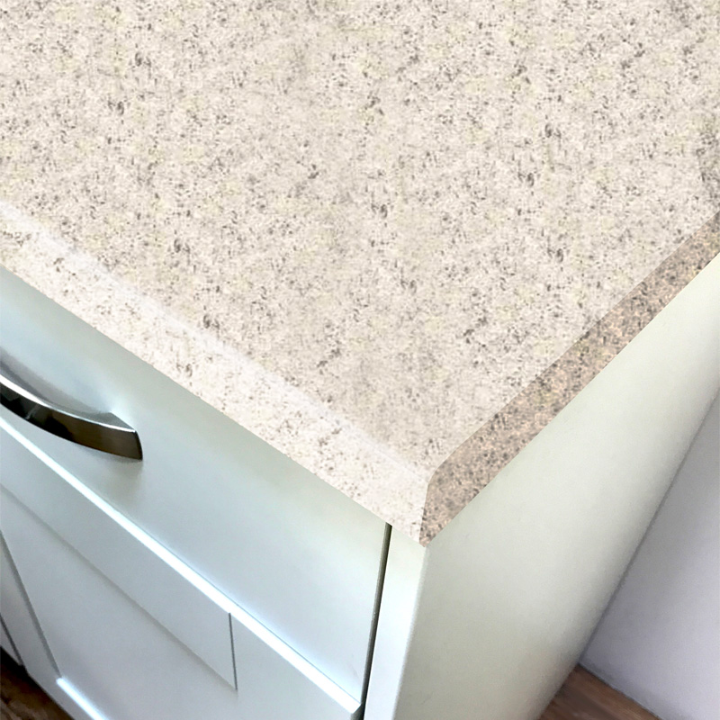 Duropal Ipanema White Crystal Stone Laminate Kitchen Worktops