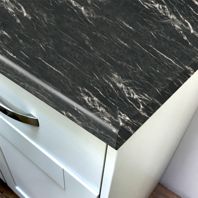 Duropal Nero Portoro 2050mm X 600mm X 40mm Worktop In Xtreme Matt Finish