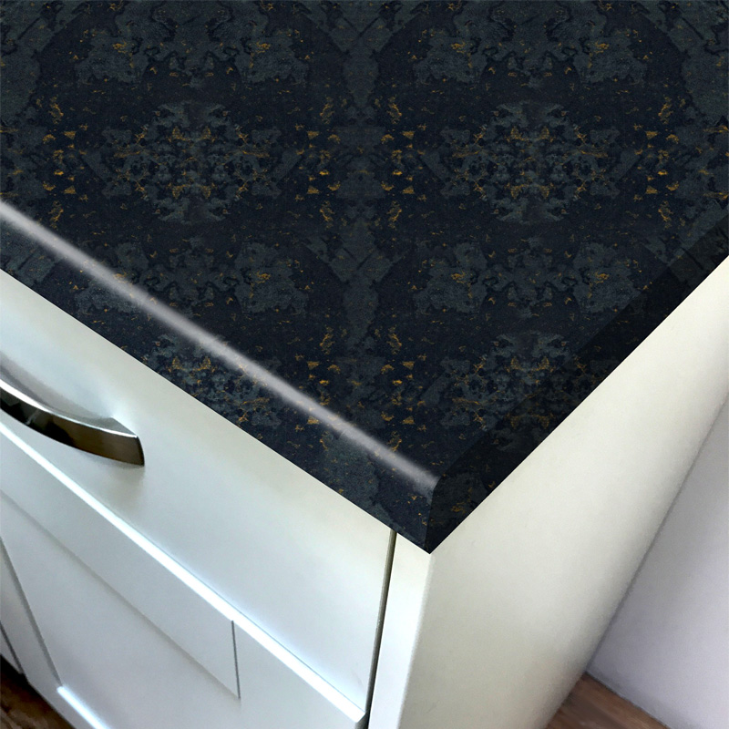 Duropal Star Black Top Face Laminate Kitchen Worktops