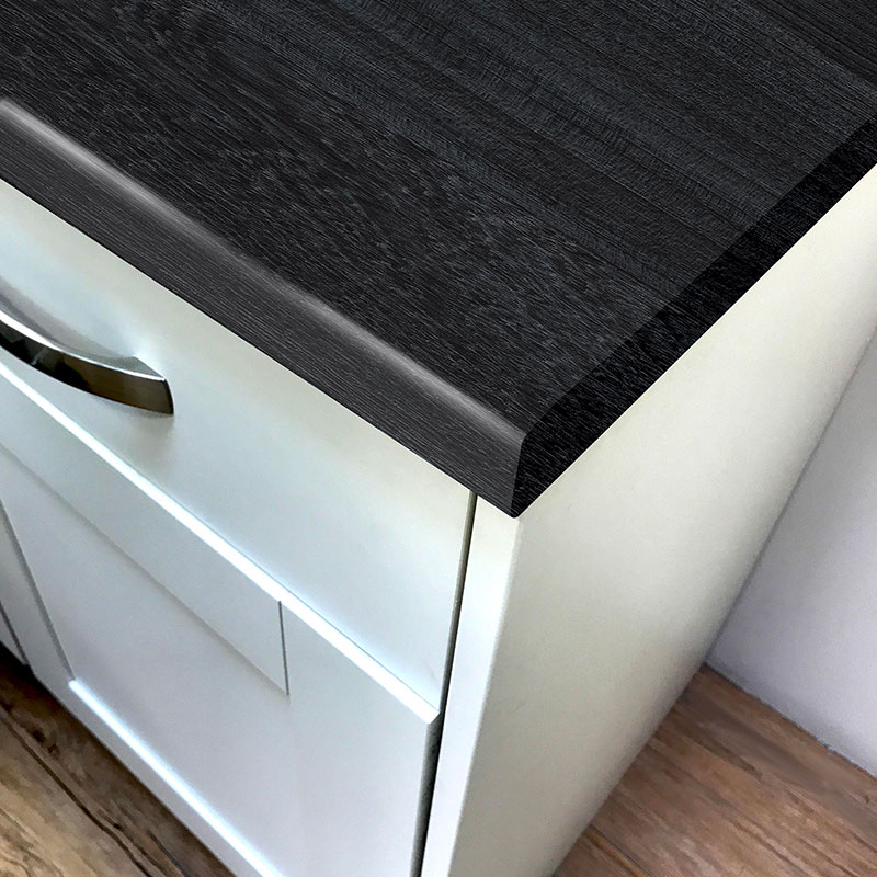 Pro-Top Carbon Marine Wood Super Matt Laminate Kitchen Worktops