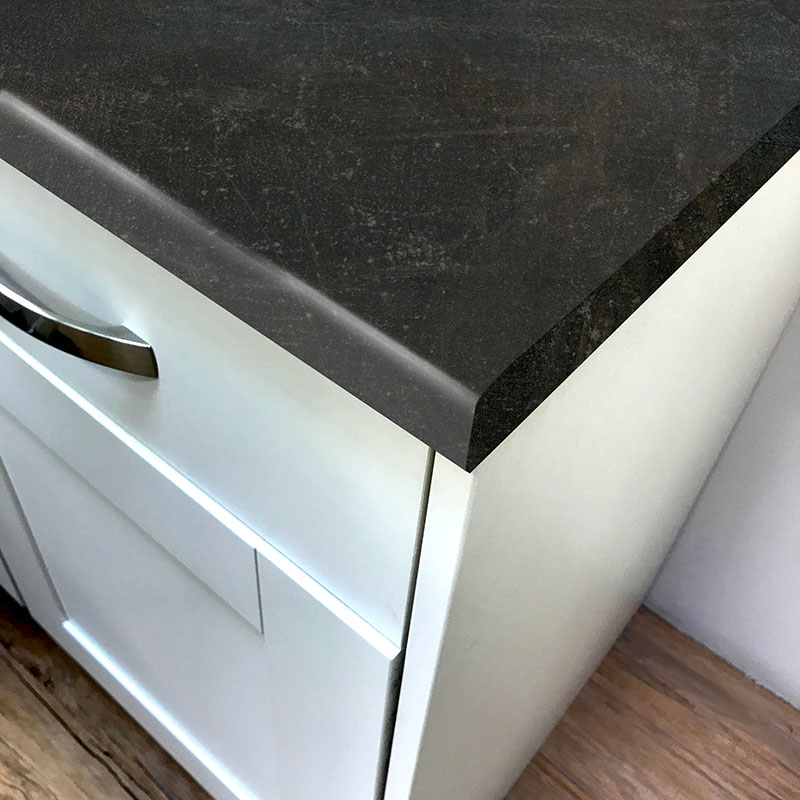Pro-Top Dark Atelier Used Effect Laminate Kitchen Worktops