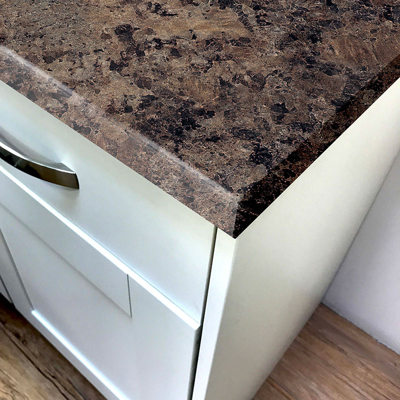 Pro-Top Jamocha Crystal Laminate Kitchen Worktops