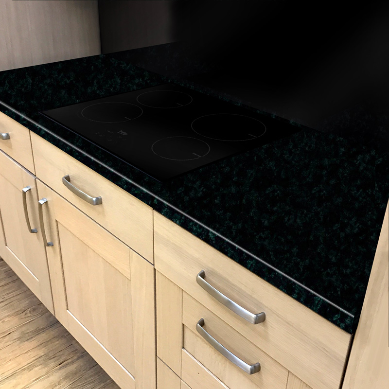 Duropal Black Brazil 900mm Breakfast Bar