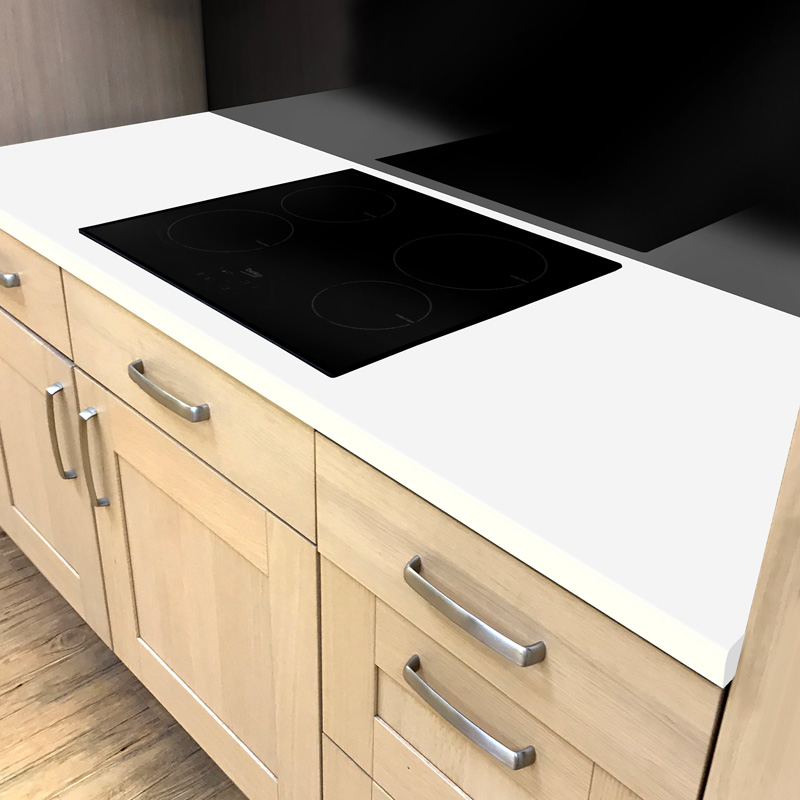 Duropal Crystal White 600mm Worktop