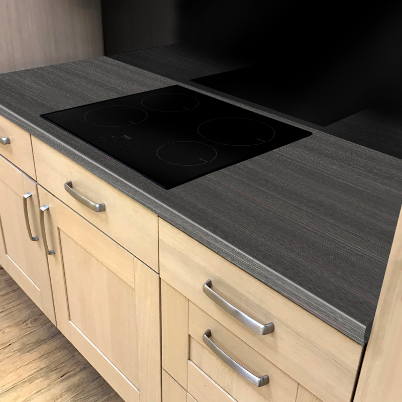 Duropal Dark Mountain Oak 900mm Breakfast Bar