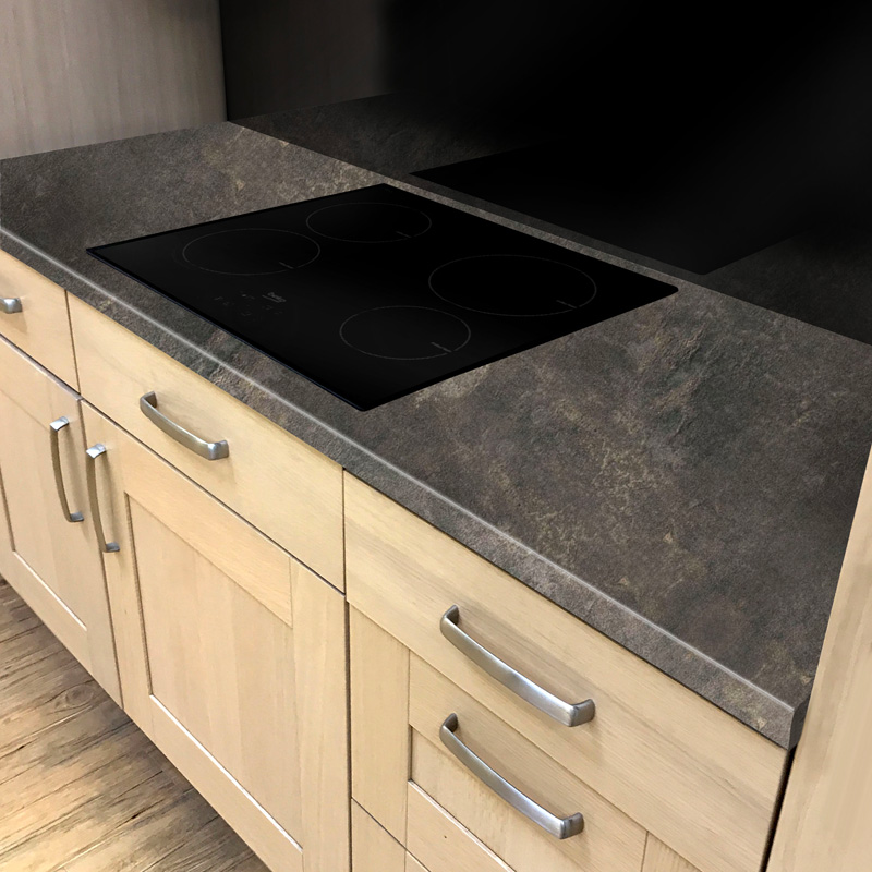 Duropal Rabac 2050mm X 600mm X 40mm Worktop In Fine Grain