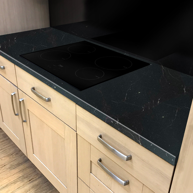 Duropal Roma Marble Gloss 4100mm X 600mm X 40mm Worktop In Gloss Finish