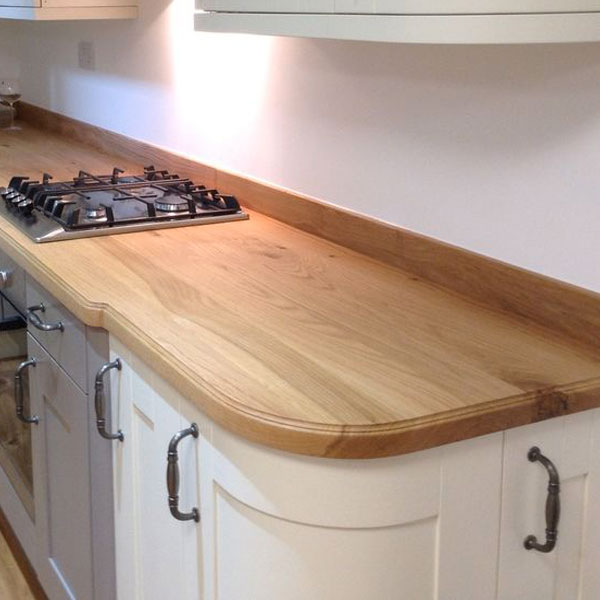 No.1 Best Selling Product In This Category: Solid Wood Prime Oak 40mm Stave Worktops