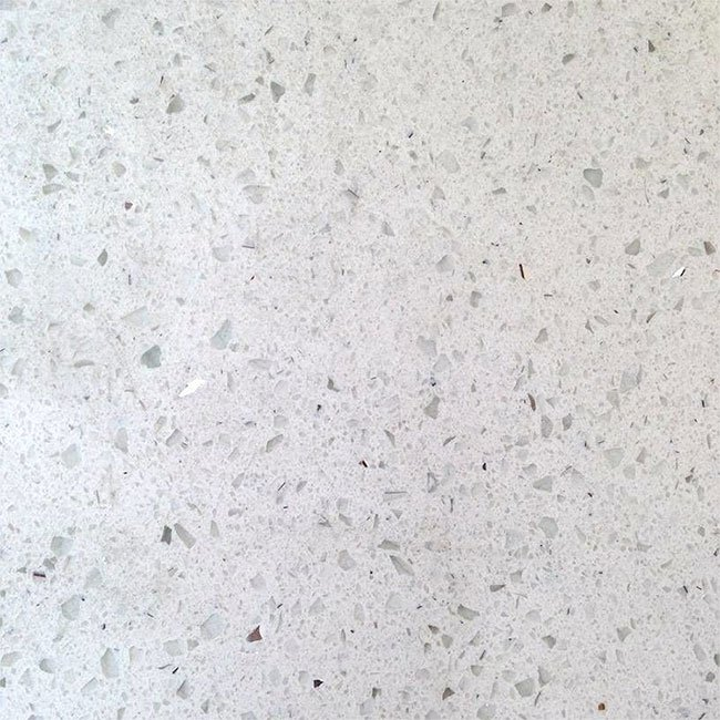 Simply Quartz Galaxy White Quartz Kitchen Worktops