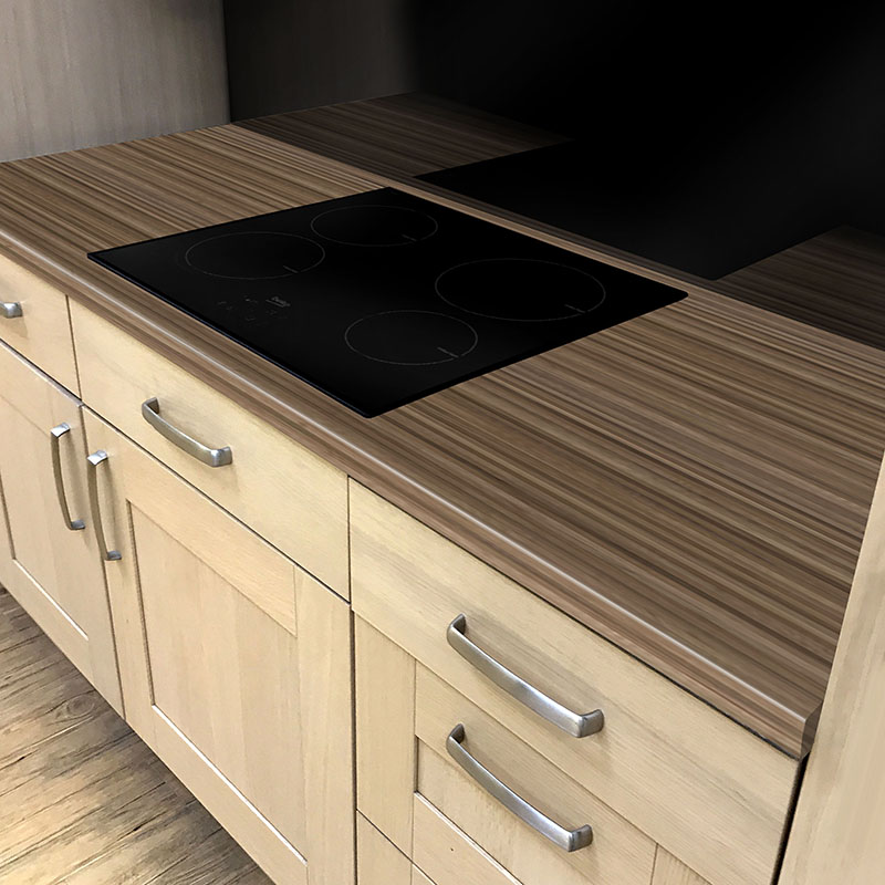 Axiom Bark Microplank Woodland 600mm Worktop