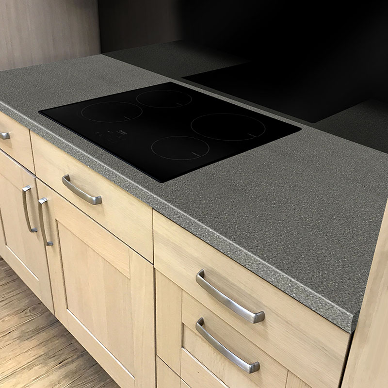 Axiom Black Fleck Crystal 600mm Worktop
