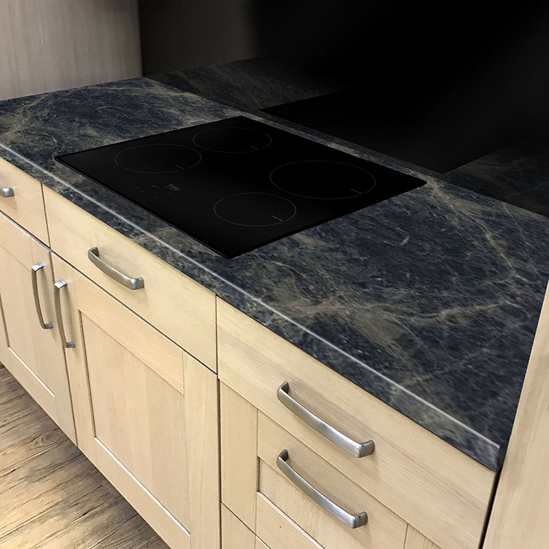 Axiom Breccia Marrone Honed 900mm Breakfast Bar