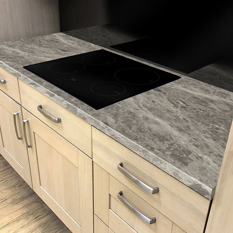 Axiom Breccia Pacifica Honed 665mm Breakfast Bar